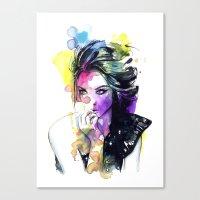 Milla Fashion Portrait G… Canvas Print