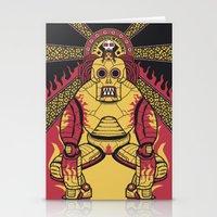 Tekno Drug Machine Stationery Cards