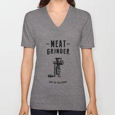 Meat Grinder Unisex V-Neck