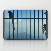 India - Monkey bars iPad Case