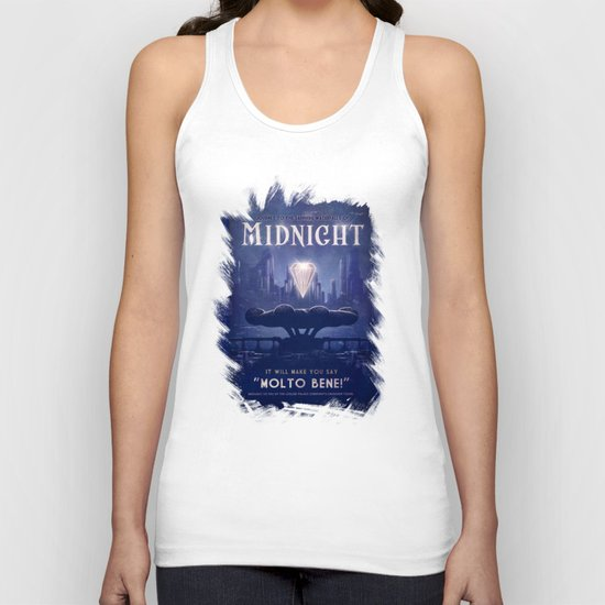 Midnight Unisex Tank Top