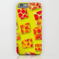 red spotted rectangles iPhone 6 Slim Case