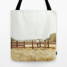 Fence Standing Tote Bag
