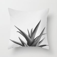 Leaves II Throw Pillow