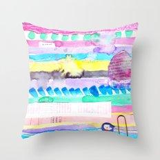 Finally summer Throw Pillow