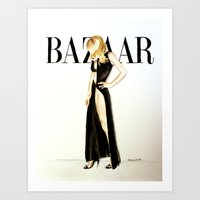 Harper's Bazaar Magazine… Art Print