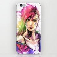The Punk iPhone & iPod Skin