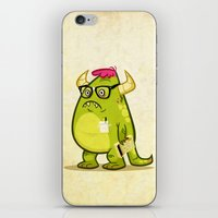 Monster Nerd iPhone & iPod Skin