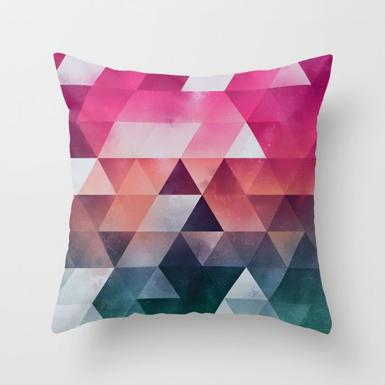 ryzylvv Throw Pillow