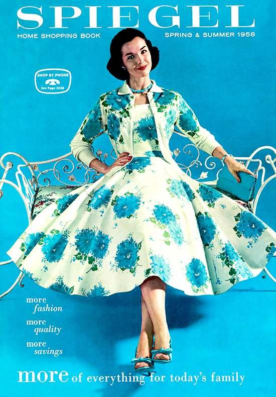 1958 Spring/Summer Spiegel Catalog Canvas Print