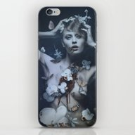 iPhone & iPod Skin featuring Anthophobia by Rose's Creation
