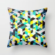 Amped Throw Pillow