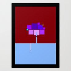 square landscape Art Print