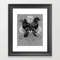 Hells Pigeons Framed Art Print