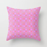 Pastel Broken Diamond Sw… Throw Pillow