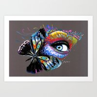 -Two Beauties- Art Print