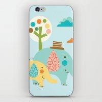 Jungle Ellies iPhone & iPod Skin