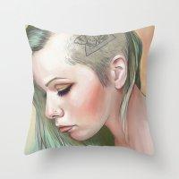 Caudal Lure Throw Pillow