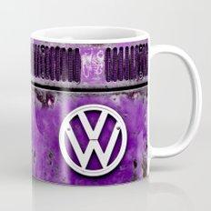 VW Retro Purple Mug