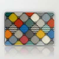 buttoned patches Laptop & iPad Skin