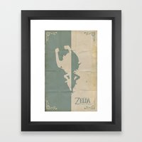 The Legend of Zelda: Twilight Princess Framed Art Print