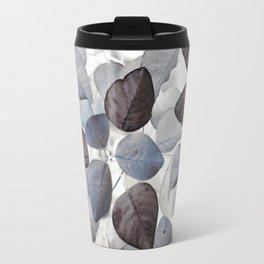 Travel Mug - Blue Leaves - dada22