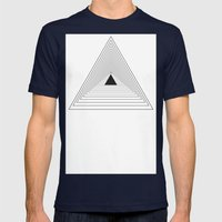 Delta Mens Fitted Tee Navy SMALL