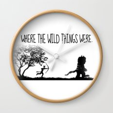 Where the wild things were. Wall Clock