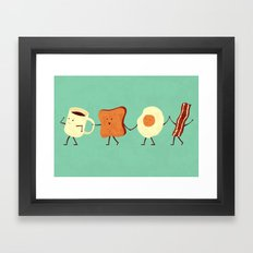Let's All Go And Have Br… Framed Art Print