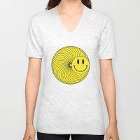 Smiley Ring Unisex V-Neck