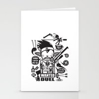 SORRY I MUST KILL YOU ! … Stationery Cards