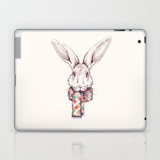 Bunny and scarf Laptop & iPad Skin