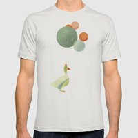 Balance Mens Fitted Tee Silver SMALL