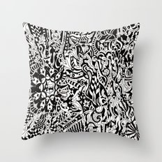 mourning session Throw Pillow