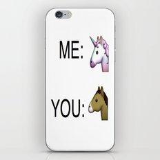 Unicorn fever iPhone & iPod Skin