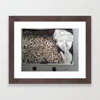 Kill Your Television Framed Art Print