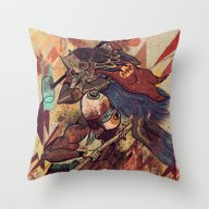 Throw Pillow featuring Pancanacerta by Zansky