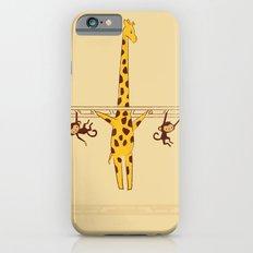 Frustrated Giraffe iPhone 6 Slim Case