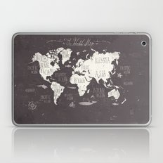 The World Map Laptop & iPad Skin