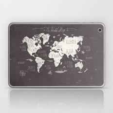 The World Map Laptop & iPad Skin