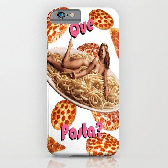 Que Pasta? iPhone & iPod Case