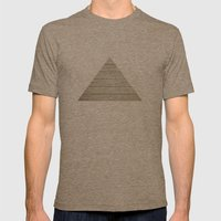 Wood Mens Fitted Tee Tri-Coffee SMALL