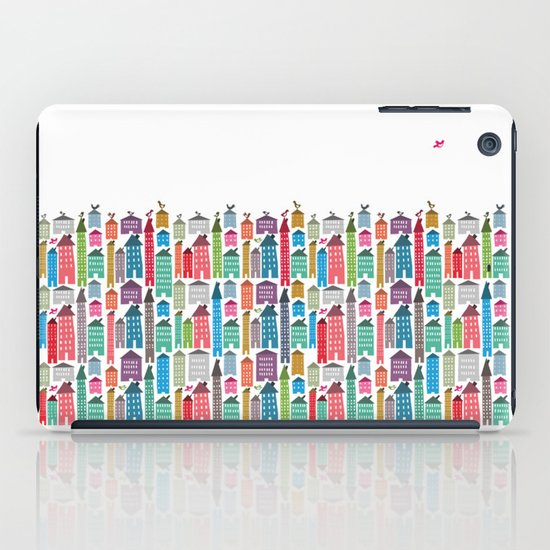 Houses and Birds iPad Case