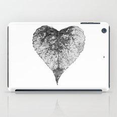 heart b&w iPad Case