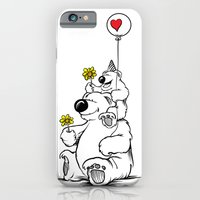 iPhone & iPod Case featuring Papa Bear & Baby Bear by Peter Donahue