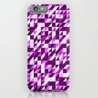 Purple Patchwork iPhone 6 Slim Case
