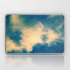 The Blue Sky Clouds Laptop & iPad Skin