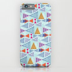 Geometric Mid Century Modern Triangles 2 iPhone 6 Slim Case
