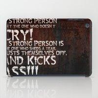 KICK ASS! iPad Case