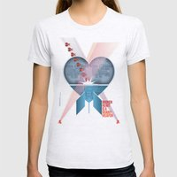 Broken Heart Is A Deadly Weapon Womens Fitted Tee Ash Grey SMALL